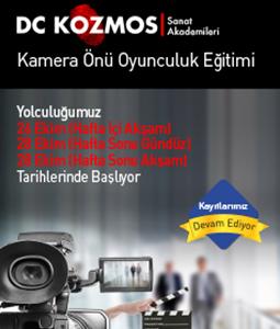 Kamera Önü Oyunculuk Eğitimi | Dc Kozmos Sanat Akademisi