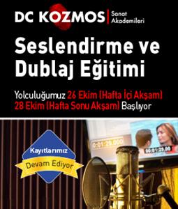 Seslendirme ve Dublaj Eğitimi - Dc Kozmos Sanat Akademisi