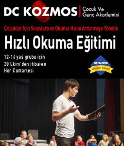 Hızlı Okuma Eğitimi, Hızlı Okuma Atölyesi | Dc Kozmos Sanat Akademisi
