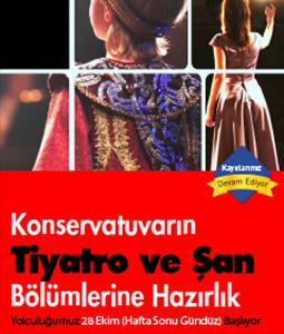 Konservatuvarın Tiyatro ve Şan Bölümlerine Hazırlık Eğitimi | Dc Kozmos Sanat Akademisi
