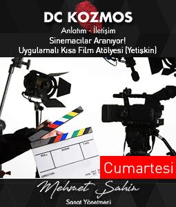Sinemacılar Aranıyor! Uygulamalı Kısa Film Atölyesi (Yetişkin)