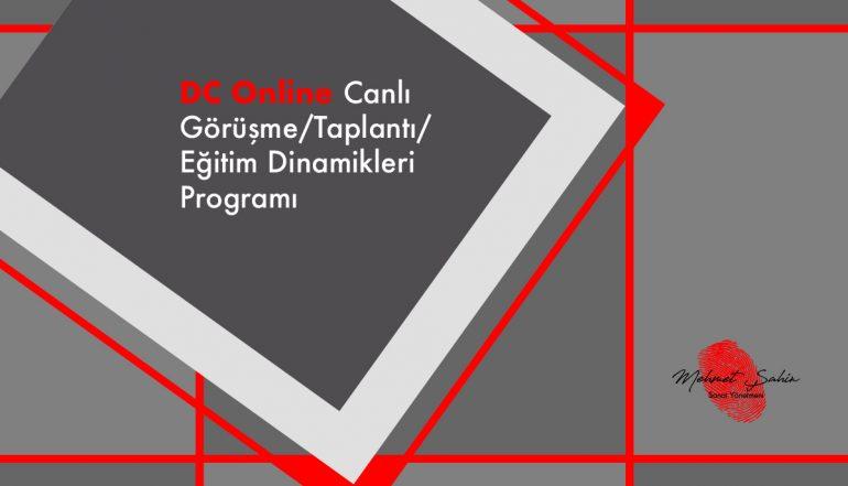 Online Canlı Görüşme / Toplantı / Eğitim Dinamikleri Programı